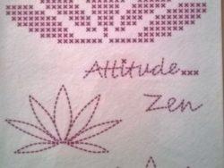 Patchwork Broderi Zen